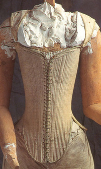 How To Put On A Corset Historical Designs